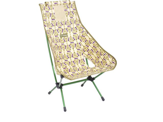 Helinox Chair Two, triangle green/green